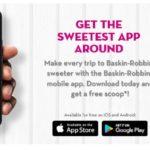 Free Ice Cream at Baskin Robbins