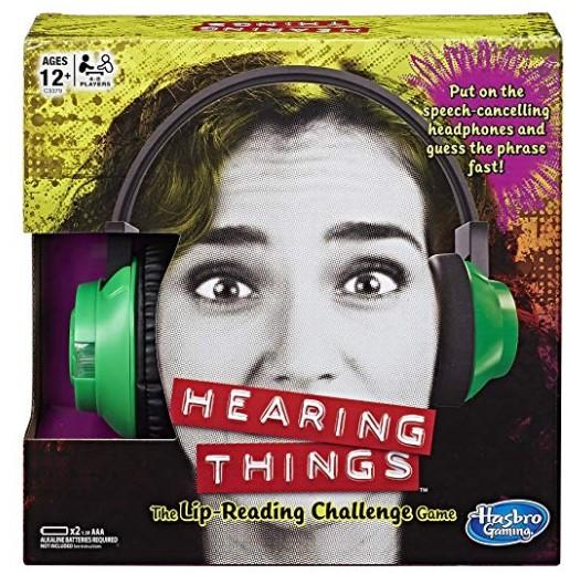 Hasbro Hearing Things Game $8.57 {Reg $20}