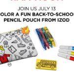 JCPenney – Free Izod Pencil Pouch