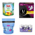 Newest Printable Coupons 06/24: DOLE, U by KOTEX, Scott & More
