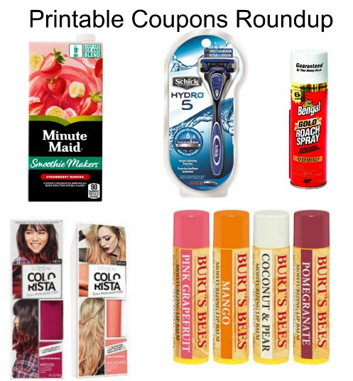 photograph relating to Burt's Bees Coupons Printable identify Printable Discount codes Roundup: Align, Burts Bees, BENGAL ROACH
