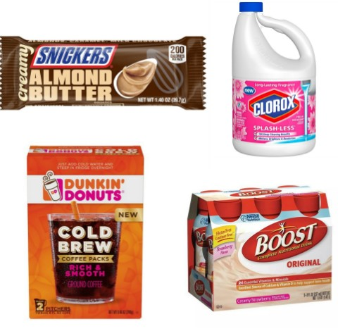 image about Boost Printable Coupons called Most recent Printable Discount codes 07/05: Strengthen, Jimmy Dean, Snickers