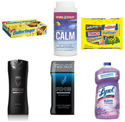 picture regarding Lysol Printable Coupons called Most recent Printable Coupon codes 07/31: Therefore Mouth watering, Butterfinger
