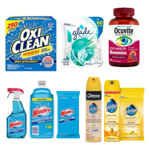 photo regarding Oxiclean Printable Coupon identify Most current Printable Coupon codes 07/09: Airhead, Glade, OxiClean