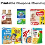 Printable Coupons Roundup: Huggies, Kellogg's, Scrubbing Bubbles & More