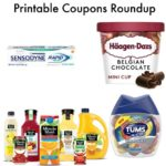 Printable Coupons Roundup: Land O'Frost, Haagen Dazs, Sensodyne & More