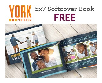 Free Softcover Photo Book at York Photo (Reg. $13) Just Pay Shipping and Handling