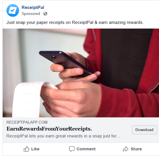 ReceiptPal iOS – Turn Receipts  into Rewards