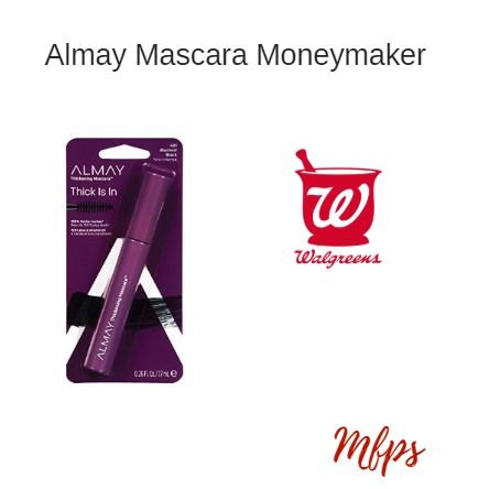 Walgreens: Almay Mascara Moneymaker Starting 8/25