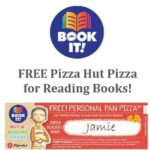 Earn Free Pizza Hut Pan Pizza with the Book It Program