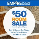 $50 Room Sale with Empire Today