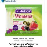 Freeosk: Free Vitafusion Women's Multivitamin Sample at Sam's