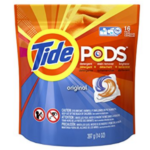 Walmart: Tide Pods 16-Count Laundry Detergent for as low as $0.94