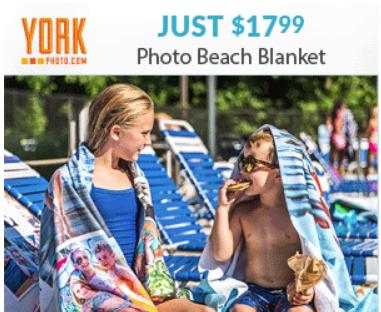 York Photo $17.99 Photo Beach Towel/Blanket (US and CAN)