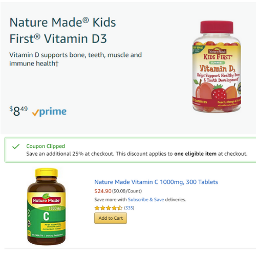 photograph relating to Nature Made Printable Coupons known as Amazon Coupon codes!