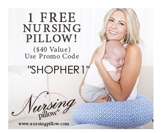 Free Nursing Pillow {Just Pay Shipping and Handling}