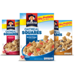 Coupon Round-Up: Save on Quaker Oatmeal Squares and more!