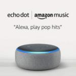Echo Dot + 1 Month Amazon Music Unlimited $8.98 (Reg $57.98)