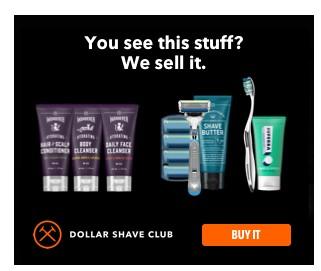 Dollar Shave Starter Sets From $5.00
