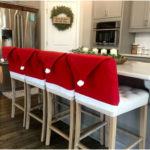 Christmas Chair Covers, Set of 2 ONLY $10.98 SHIPPED!