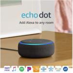 Echo Dot (3rd Gen) – Smart speaker with Alexa $22 (Reg $49.99) at Amazon