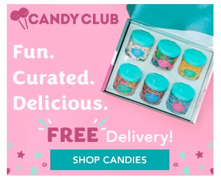Candy Club: $29.99 per Month + Shipping