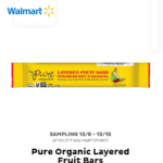 Freeosk: Free Pure Organic Layered Fruit Bars at Walmart