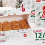 Krispy Kreme: One Dozen Donuts ONLY $1.00 {12/12 Only}
