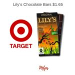 Target: Lily's Chocolate Bars $1.65