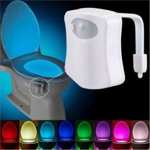 LED Sensor Motion-Activated Bathroom Toilet Light